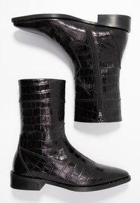 Scotch & Soda - OPAL MID BOOT - Vysoká obuv - black - 3