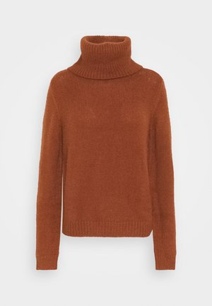 VIFEAMI ROLLNECK - Maglione - tortoise shell