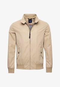 Superdry - HARRINGTON - Summer jacket - tan - 3