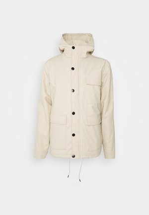 AKPER RAIN - Waterproof jacket - brown rice