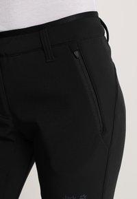 Jack Wolfskin - ZENON PANTS WOMEN - Outdoorové kalhoty - black - 6