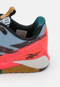 Reebok - NANO X1 TR ADVENTURE - Sports shoes - gable grey/core black/neon cherry - 5