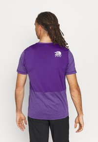 The North Face - GLACIER TEE - Triko spotiskem - mottled purple - 2