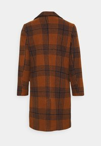 Another Influence - JACE CHECK OVERCOAT - Classic coat - tan - 1