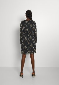 Vero Moda - VMFRAYA V NECK BALLOON DRESS - Shirt dress - black - 2