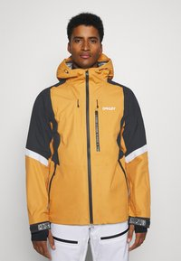 Oakley - GUNN SHELL - Snowboard jacket - gold yellow - 0