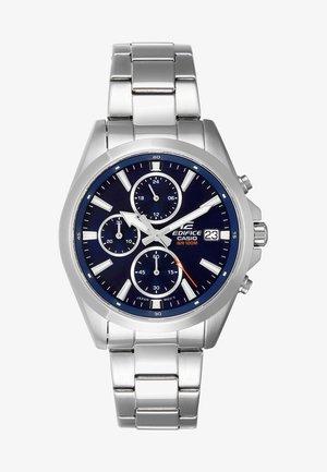 Chronograaf - silver-coloured/blau