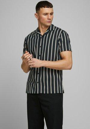 JPRBLASTRIPE RESORT SHIRT RELAX - Shirt - black