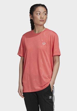 T-SHIRT - T-shirt con stampa - pink