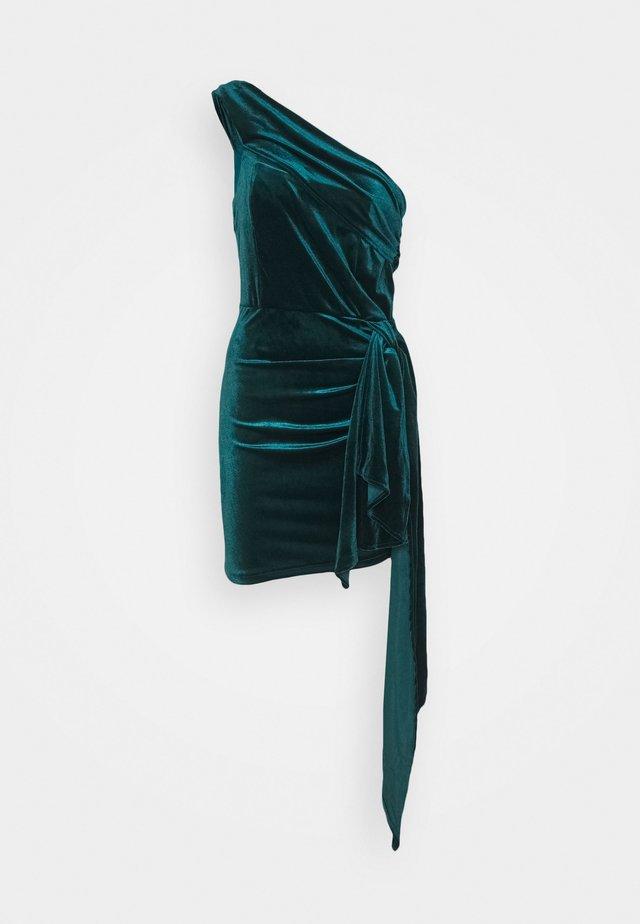 SHANY DRESS - Juhlamekko - teal