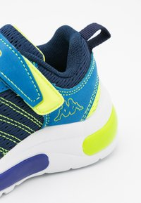 Kappa - UNISEX - Sports shoes - navy/lime - 5