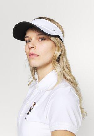 OLIVINE VISOR - Cap - white/black