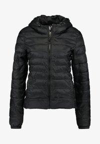 ONLY - ONLTAHOE HOOD JACKET  - Light jacket - black - 3