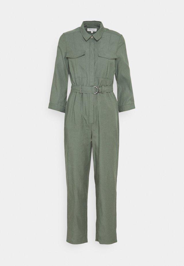 CORA BOILER SUIT - Jumpsuit - sage green