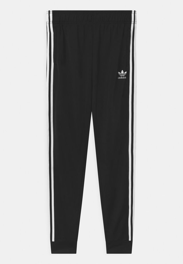 ADICOLOR SST TRACK PANTS - Tracksuit bottoms - black/white