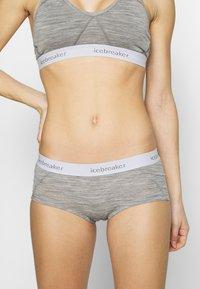 Icebreaker - SPRITE HOT PANTS - Pants - mottled grey - 0