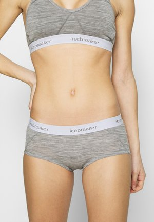 SPRITE HOT PANTS - Pants - mottled grey