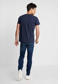 Esprit - Print T-shirt - navy - 2