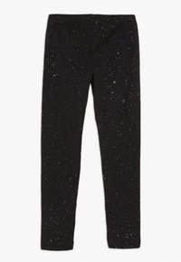 OVS - SPRAY GLITTER - Leggings - black beauty - 1