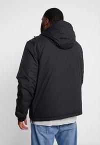 Tommy Hilfiger - STRETCH ANORAK - Light jacket - black - 2