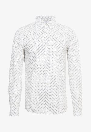 LOGO SLIM STRETCH - Shirt - bright white