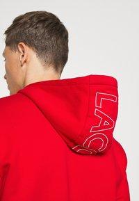 Lacoste - Sweatshirt - red/viennese/navy blue - 3