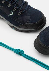 Hi-Tec - STORM WP WOMENS - Hiking shoes - sky captain/mint/navigate - 5
