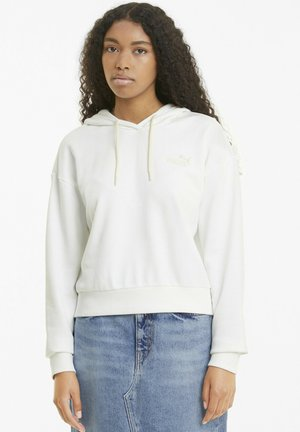 ESSENTIALS EMBROIDERED CROPPED  - Hoodie - no color