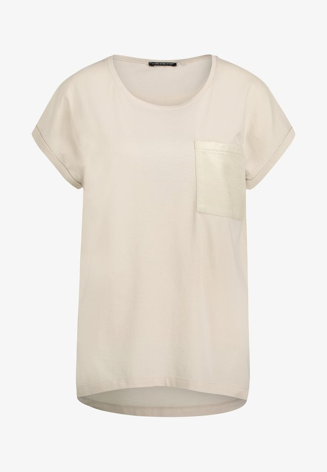Basic T-shirt - cashew