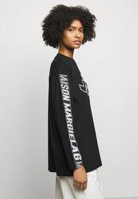 MM6 Maison Margiela - Long sleeved top - black - 3