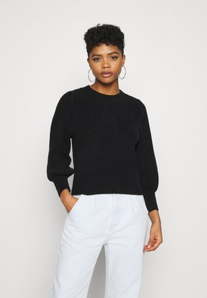 ALVA - Jumper - black