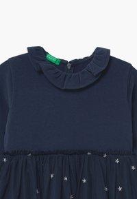 Benetton - Jersey dress - dark blue - 2