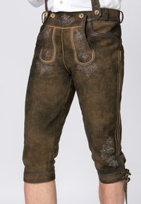 Stockerpoint - JUSTIN - Leather trousers - bison - 2