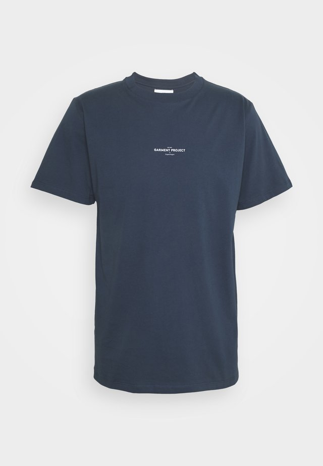 BEST TEE - T-shirt imprimé - navy