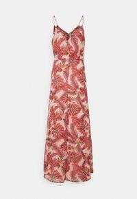 Vila - VIAMARYLLIS ANKLE DRESS - Maxi dress - misty rose/mars red - 1