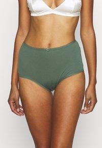 Marks & Spencer London - SCATTER DAISY 5 PACK - Underbukse - light green mix - 3