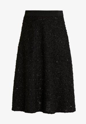 SUSANNE SKIRT - A-line skirt - black