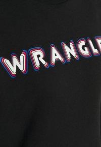 Wrangler - HIGH NECK  - Sweatshirt - black - 2