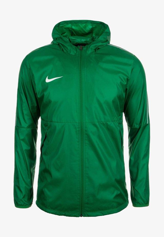 DRY PARK - Waterproof jacket - green