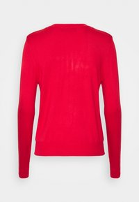 Marks & Spencer London - CREW CARDI PLAIN - Cardigan - red - 1