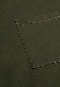 Mango - Long sleeved top - kaki - 5