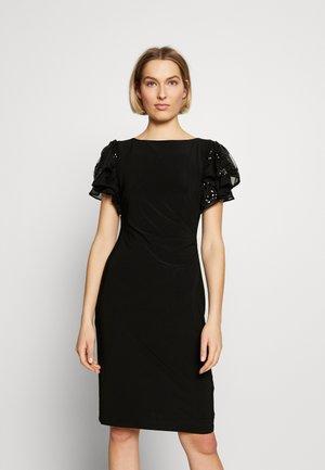 MATTE VANDERLEE COMBO - Vestito di maglina - black