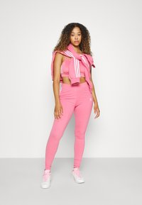 adidas Originals - STRIPES COMPRESSION - Leggings - Trousers - rose tone - 4