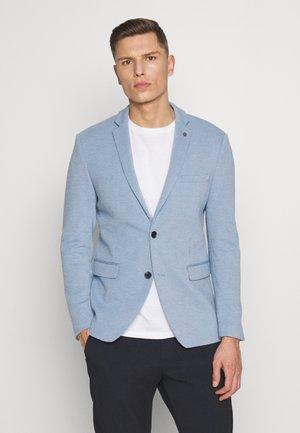 SOFT TONE - Blazer jacket - light blue