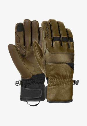 Gloves - coffe brown