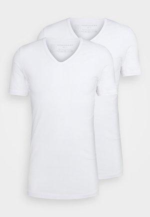 Organic Cotton Original 2 PACK - Maglietta intima - weiss