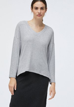 SOFT TOUCH - Neule - light grey