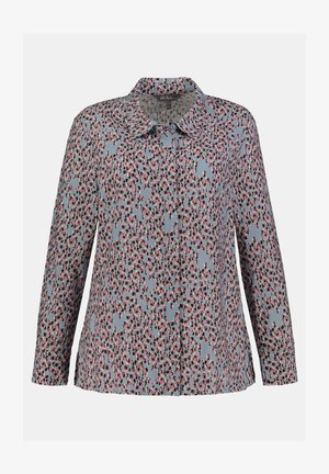 Button-down blouse - gletscherblau