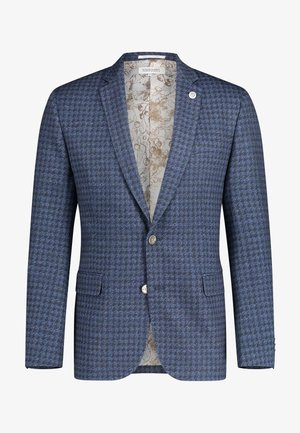 Blazer jacket - beige, blue