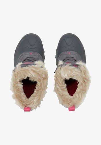 Y SHELLISTA EXTREME - Winter boots - zinc grey/mr. pink